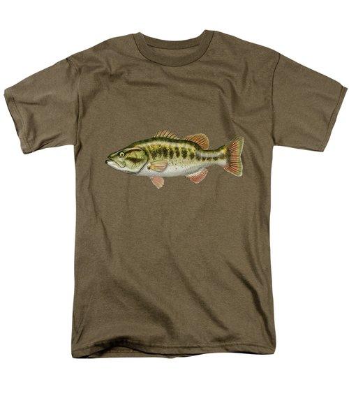 Largemouth Bass Men's T-Shirt  (Regular Fit) by Serge Averbukh