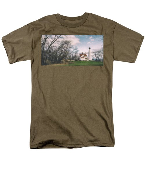 Late Afternoon At The Lighthouse Men's T-Shirt  (Regular Fit) by Scott Norris