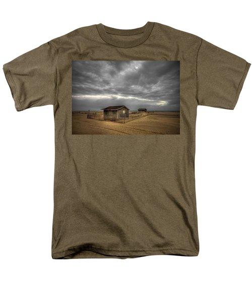 Lonely Beach Shacks T-Shirt by Evelina Kremsdorf