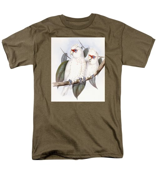 Long-billed Cockatoo Men's T-Shirt  (Regular Fit) by John Gould