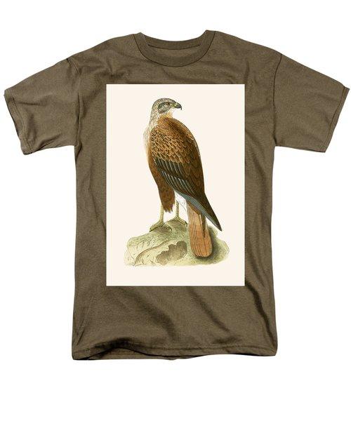 Long Legged Buzzard Men's T-Shirt  (Regular Fit) by English School