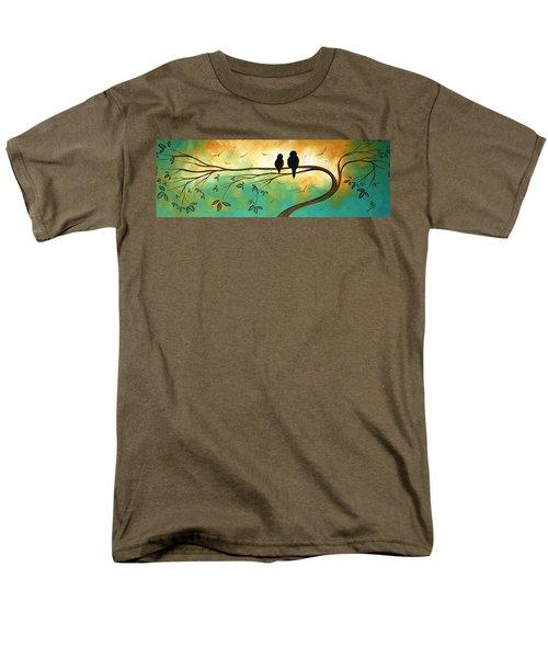 Love Birds by MADART T-Shirt by Megan Duncanson