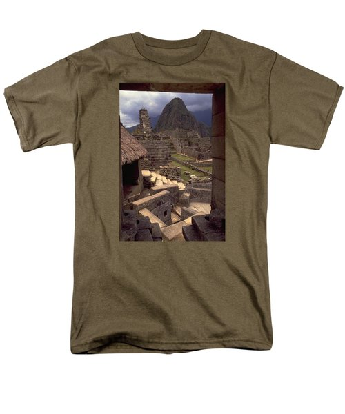 Men's T-Shirt  (Regular Fit) featuring the photograph Machu Picchu by Travel Pics