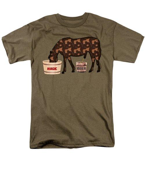 Magic Beer Men's T-Shirt  (Regular Fit) by Goko Nikolovski