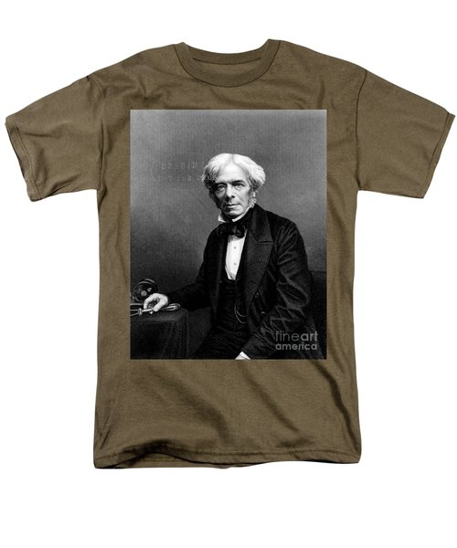 Michael Faraday, English Physicist T-Shirt by Photo Researchers