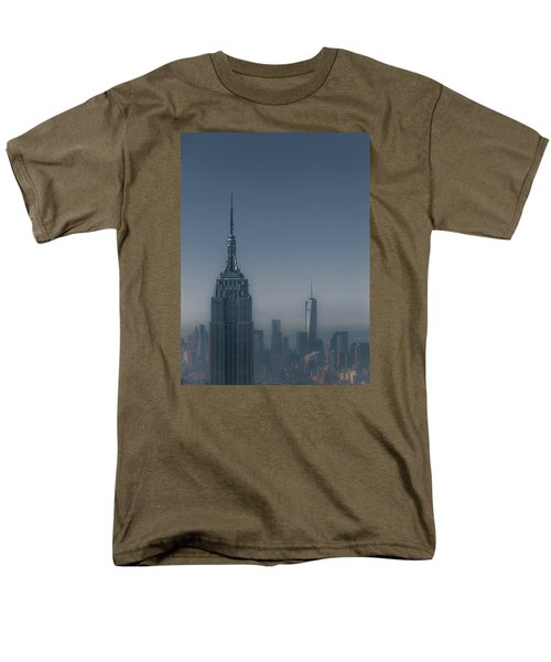 Morning In New York Men's T-Shirt  (Regular Fit) by Chris Fletcher