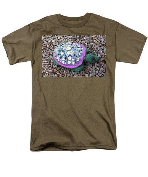 Mosaic Turtle T-Shirt by Jamie Frier