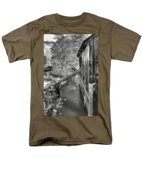 Old Grist Mill T-Shirt by Joann Vitali