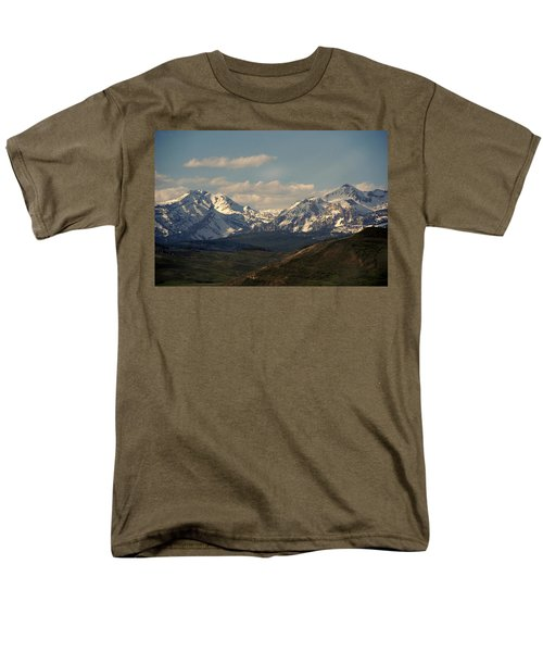 On the way to Jacksonhole WY T-Shirt by Susanne Van Hulst