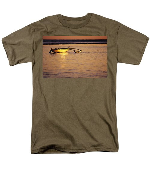 Outrigger and Sunset T-Shirt by Joss - Printscapes