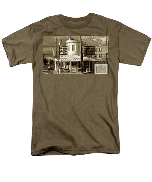 Pat's King of Steaks - Philadelphia T-Shirt by Bill Cannon