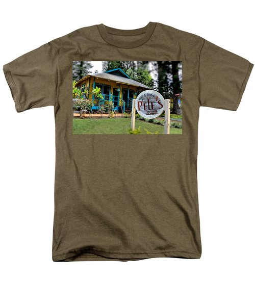 Pele's Lanai Style Men's T-Shirt  (Regular Fit) by DJ Florek