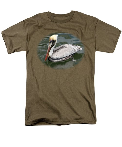 Pelican 3 Vignette Men's T-Shirt  (Regular Fit) by Bob Slitzan