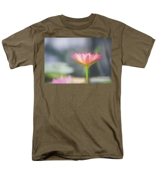 Pink Water Lily T-Shirt by Ron Dahlquist - Printscapes