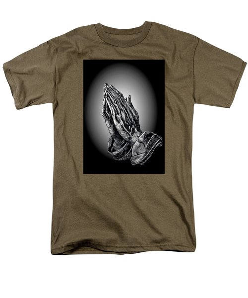 Praying Hands T-Shirt by Ronald Chambers