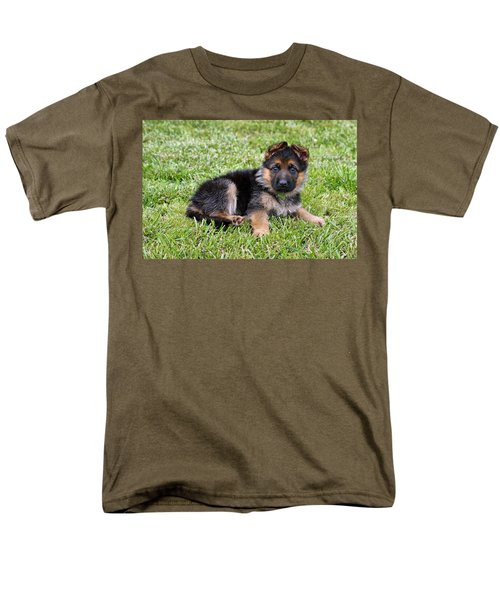 Puppy in the Spring T-Shirt by Sandy Keeton