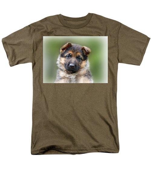 Puppy Portrait T-Shirt by Sandy Keeton