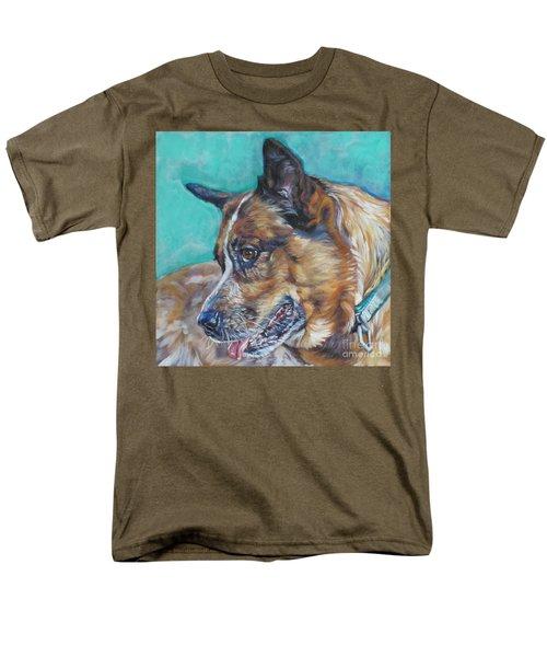 Red Heeler Australian Cattle Dog T-Shirt by Lee Ann Shepard