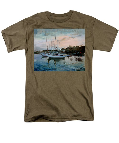 Rhodes Mandraki Harbour T-Shirt by Ylli Haruni