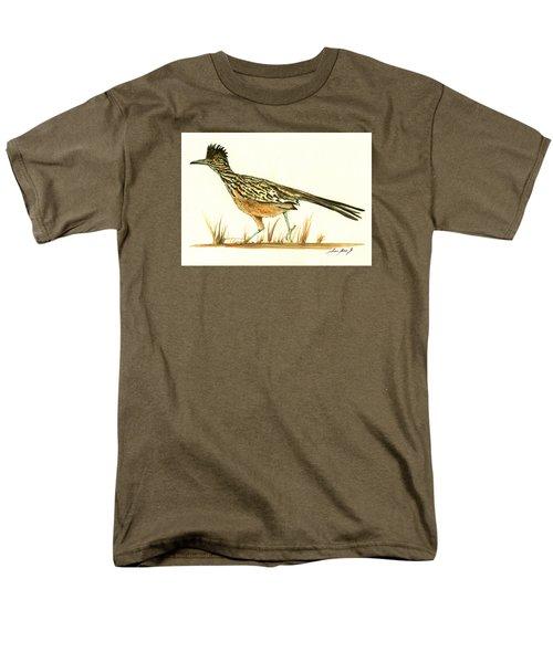 Roadrunner Bird Men's T-Shirt  (Regular Fit) by Juan Bosco