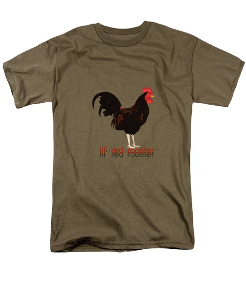 Rooster Men's T-Shirt  (Regular Fit) by Valerie Anne Kelly