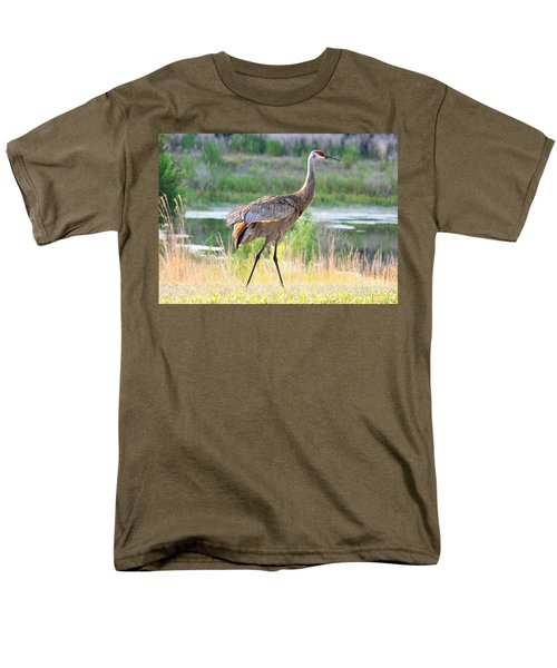 Sandhill in the Sunshine T-Shirt by Carol Groenen