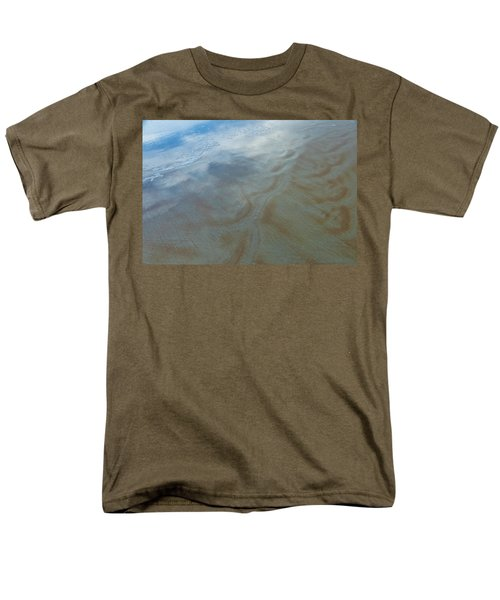 Sandy Beach Abstract T-Shirt by Carolyn Marshall
