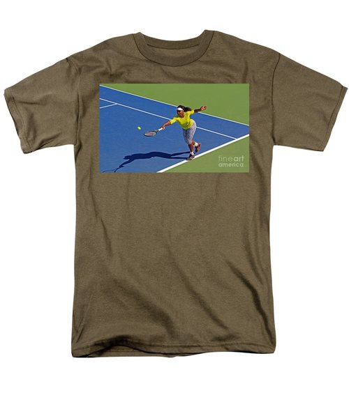 Serena Williams 1 Men's T-Shirt  (Regular Fit) by Nishanth Gopinathan