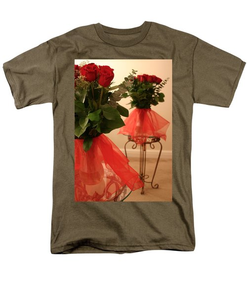 Skirted Roses in Mirror T-Shirt by Kristin Elmquist