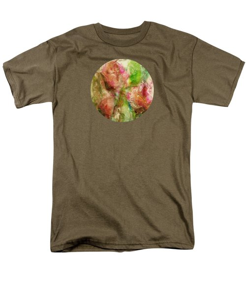 Spring Garden  Men's T-Shirt  (Regular Fit) by Mary Wolf