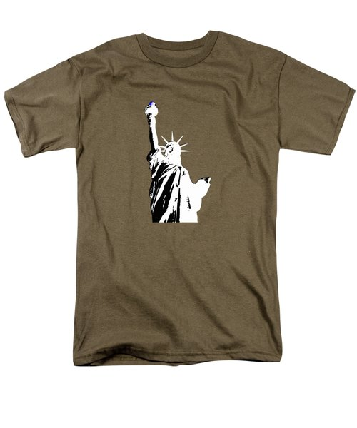 Statue Of Liberty #2 Men's T-Shirt  (Regular Fit) by Frederick Holiday