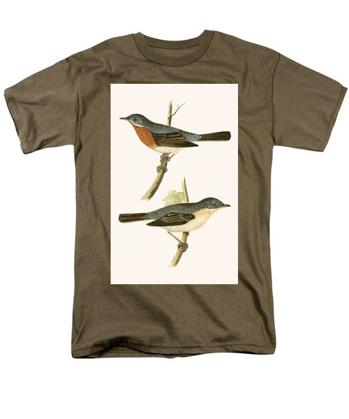 Sub Alpine Warbler Men's T-Shirt  (Regular Fit) by English School