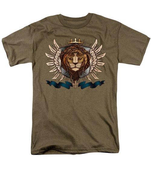 The King's Heraldry II Men's T-Shirt  (Regular Fit) by April Moen