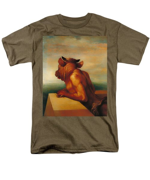 The Minotaur  Men's T-Shirt  (Regular Fit) by Mountain Dreams