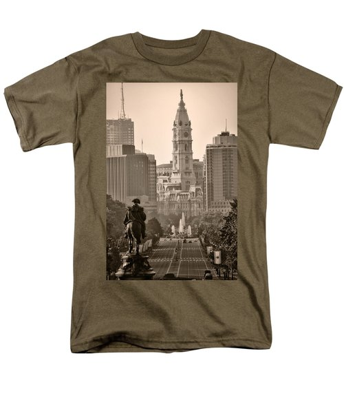 The Parkway in Sepia T-Shirt by Bill Cannon