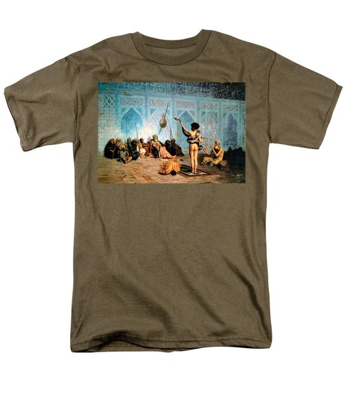 The Serpent Charmer T-Shirt by Jean Leon Gerome