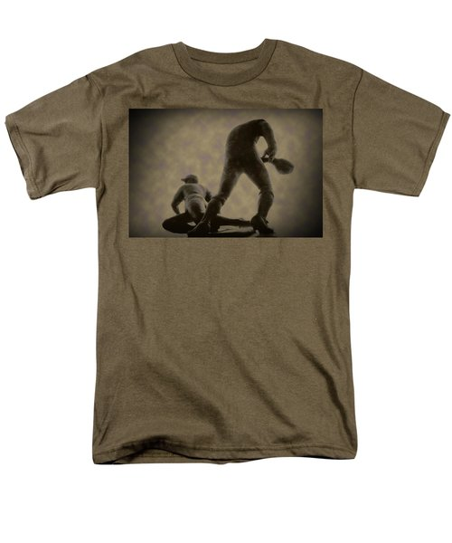 The Slide - Kick Up Some Dust T-Shirt by Bill Cannon