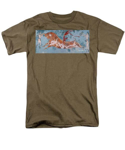 The Toreador Fresco, Knossos Palace, Crete Men's T-Shirt  (Regular Fit) by Greek School