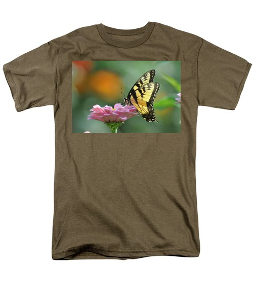 Tiger Swallowtail Butterfly T-Shirt by Bill Cannon