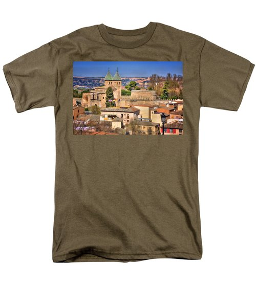Toledo Town View T-Shirt by Joan Carroll