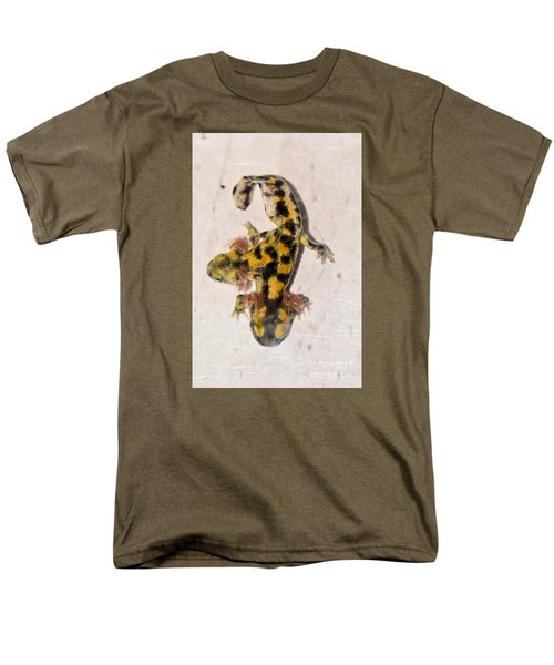 Two-headed Near Eastern Fire Salamande Men's T-Shirt  (Regular Fit) by Shay Levy