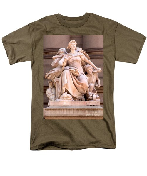 U S Custom House 4 Men's T-Shirt  (Regular Fit) by Randall Weidner