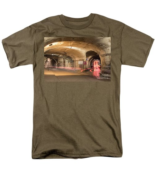 Underground Tunnels In Guanajuato, Mexico Men's T-Shirt  (Regular Fit) by Juli Scalzi