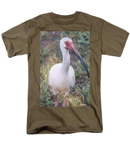 White Ibis In The Morning Light  Men's T-Shirt  (Regular Fit) by Saija  Lehtonen
