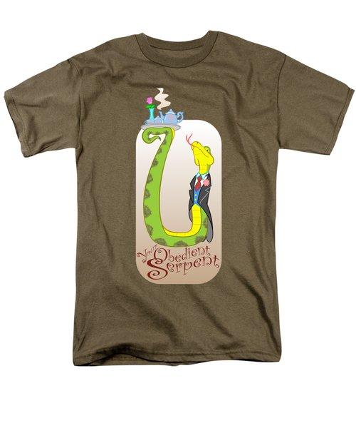 Your Obedient Serpent Men's T-Shirt  (Regular Fit) by J L Meadows