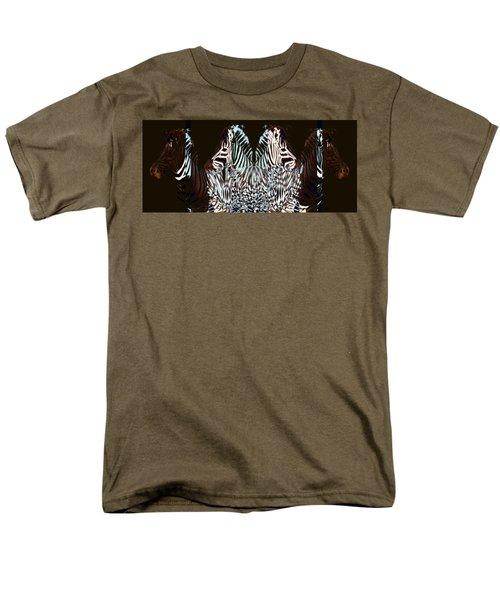 Zebraic Equation Men's T-Shirt  (Regular Fit) by Stephanie Grant