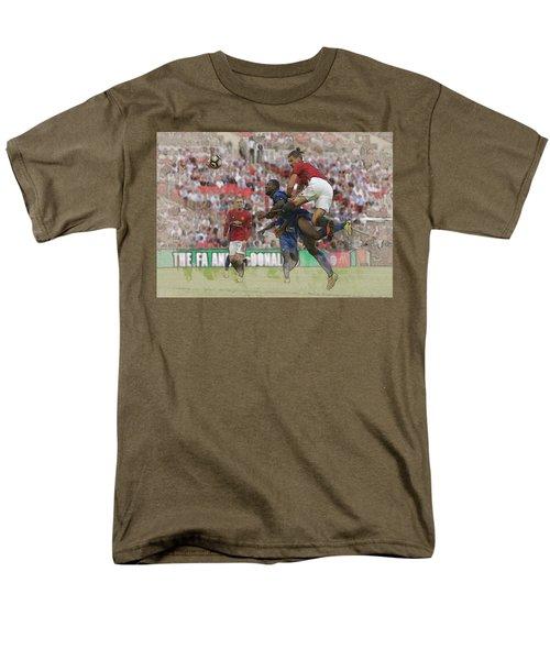 Zlatan Ibrahimovic Header Men's T-Shirt  (Regular Fit) by Don Kuing