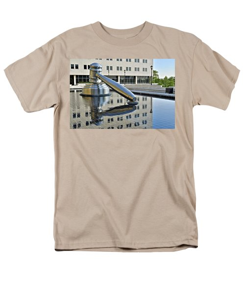Columbus Ohio Justice Center T-Shirt by Frozen in Time Fine Art Photography