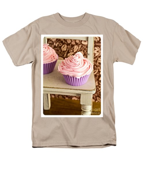 Pink Cupcakes T-Shirt by Edward Fielding