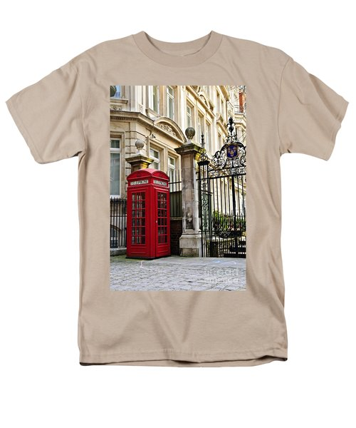 Telephone box in London T-Shirt by Elena Elisseeva
